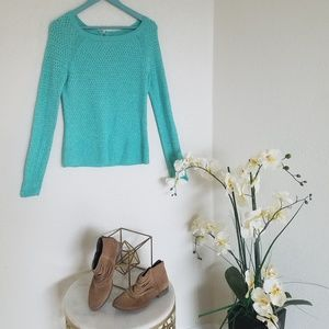 American eagle outfitters teal sweater